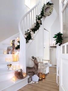 decoración de Navidad Vía Mi Casa Revista