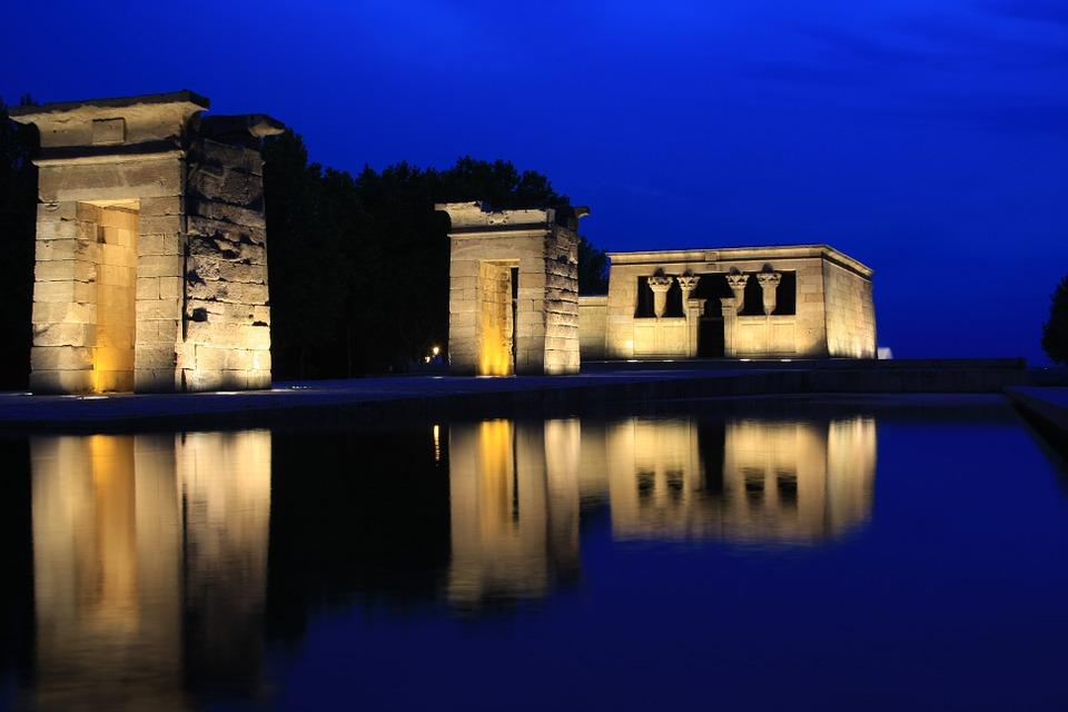 templo de debod pixabay