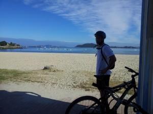 baiona en bici