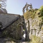 Monasterio de San Pedro de Rocas. Foto: Turismo Galicia