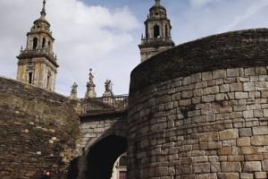 quinta etapa de la vuelta muralla romana de lugo