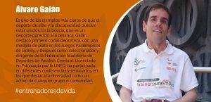 Trainers Paralímpicos - Álvaro Galán