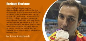 Trainers Paralímpicos - Enrique Floriano