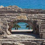 Detalle del anfiteatro romano. Foto: Wikipedia