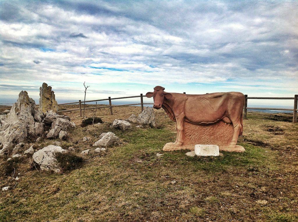 machucos monumento vaca pasiega. Foto: eltomavistasdesantander.com