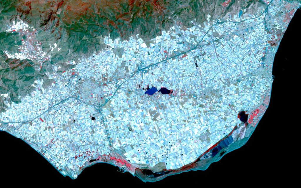 Almería desde el espacio NASA