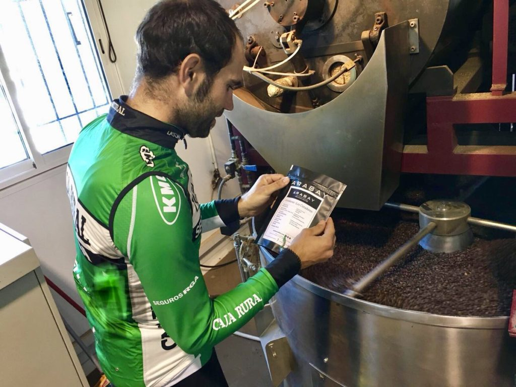 tomar café ciclismo