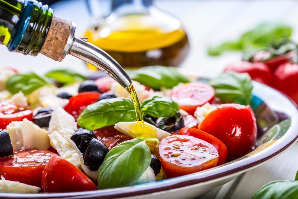 aceite de oliva ensalada seguros