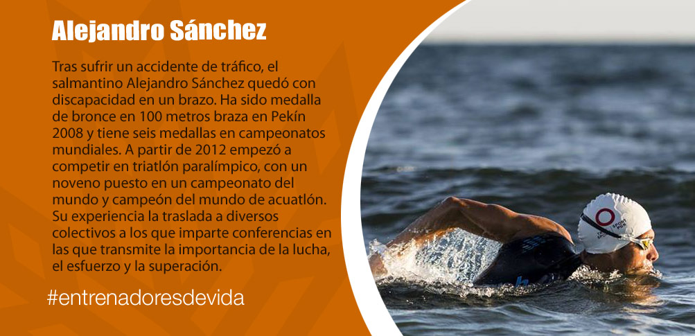 Trainers Paralímpicos - Alejandro Sánchez