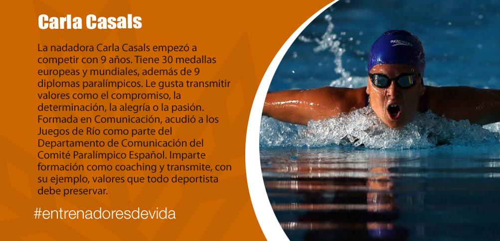 Trainers Paralímpicos - Carla Casals