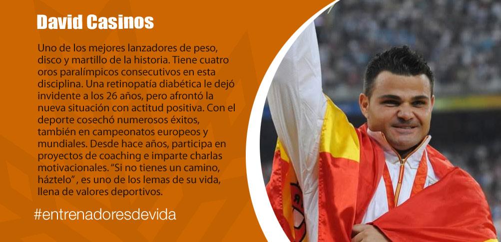 Trainers Paralímpicos - David Casinos