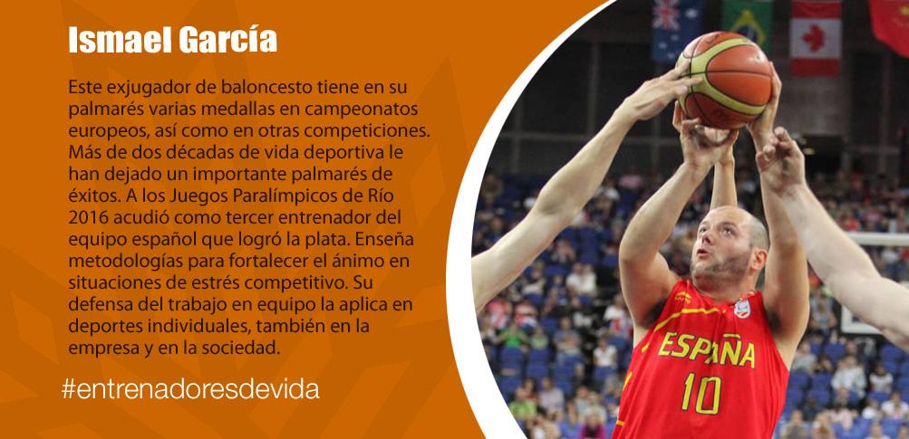 Trainers Paralímpicos - Ismael García