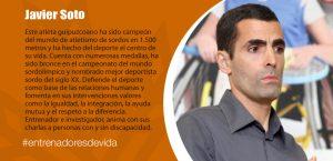 Trainers Paralímpicos - Javier Soto
