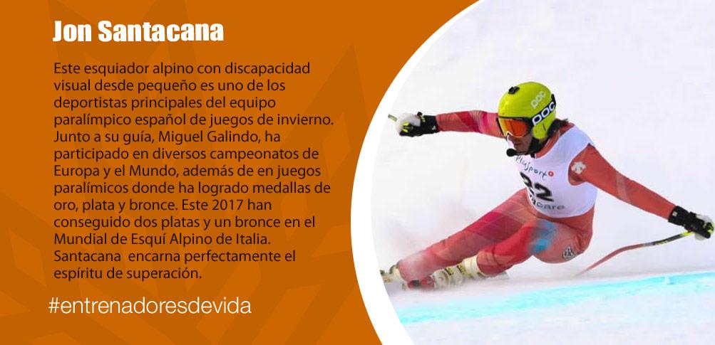 Trainers Paralímpicos - Jon Santacana