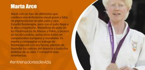 Trainers Paralímpicos - Marta Arce