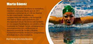 Trainers Paralímpicos - Marta Gómez
