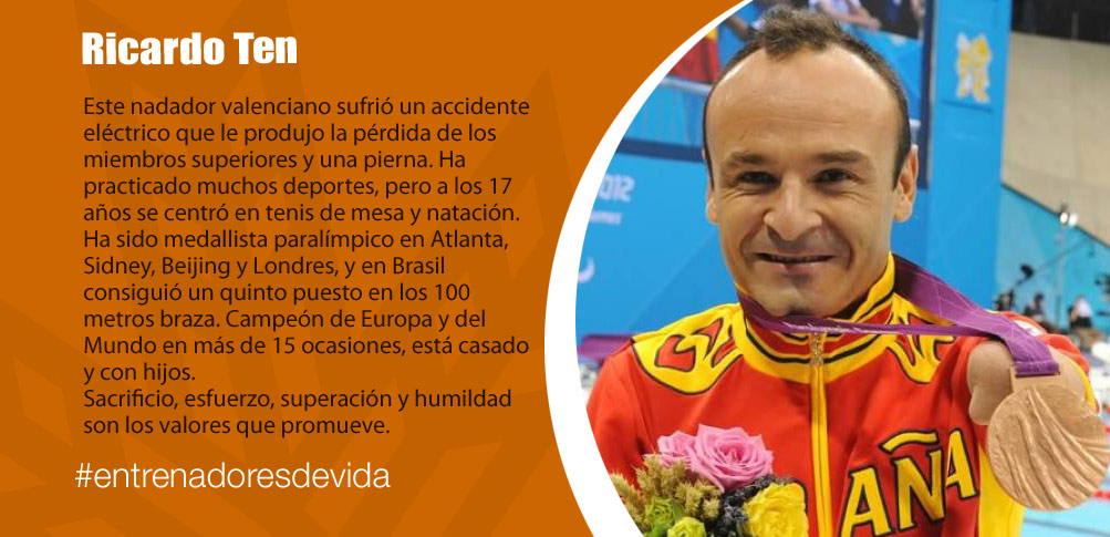 Trainers Paralímpicos - Ricardo Ten