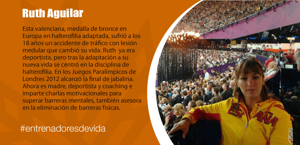 Trainers Paralímpicos - Ruth Aguilar