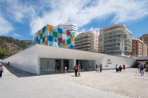 malaga ciudad museos centre pompidou foto Epizentrum
