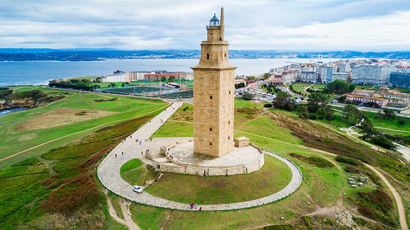 Torre de Hércules Galicia. Foto iStock