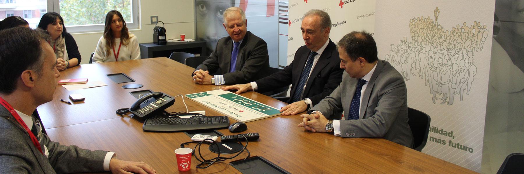 infancia hospitalizada donación cruz roja seguros rga caja rural