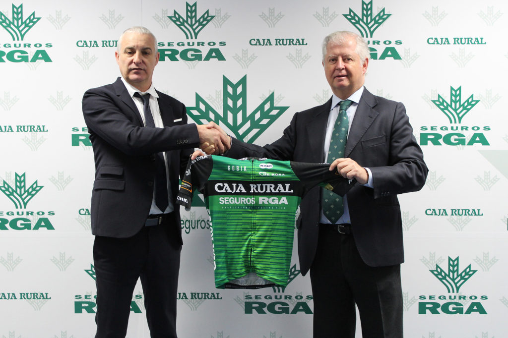 seguros rga renueva el patrocinio al equipo ciclista
