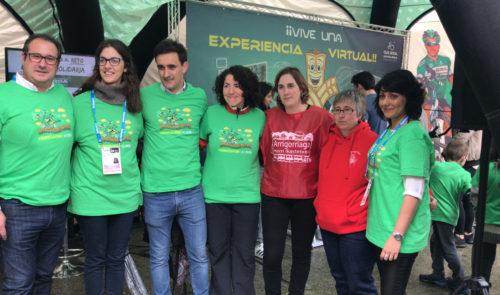 bicicleta solidaria en Arrigorriaga 2019