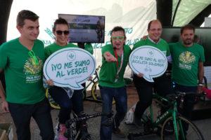 bicicleta solidaria en mora de rubielos