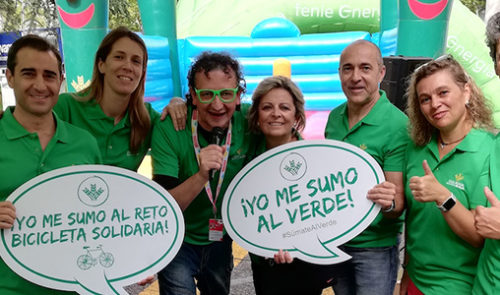 bicicleta solidaria en madrid
