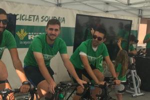 bicicleta solidaria en ibi