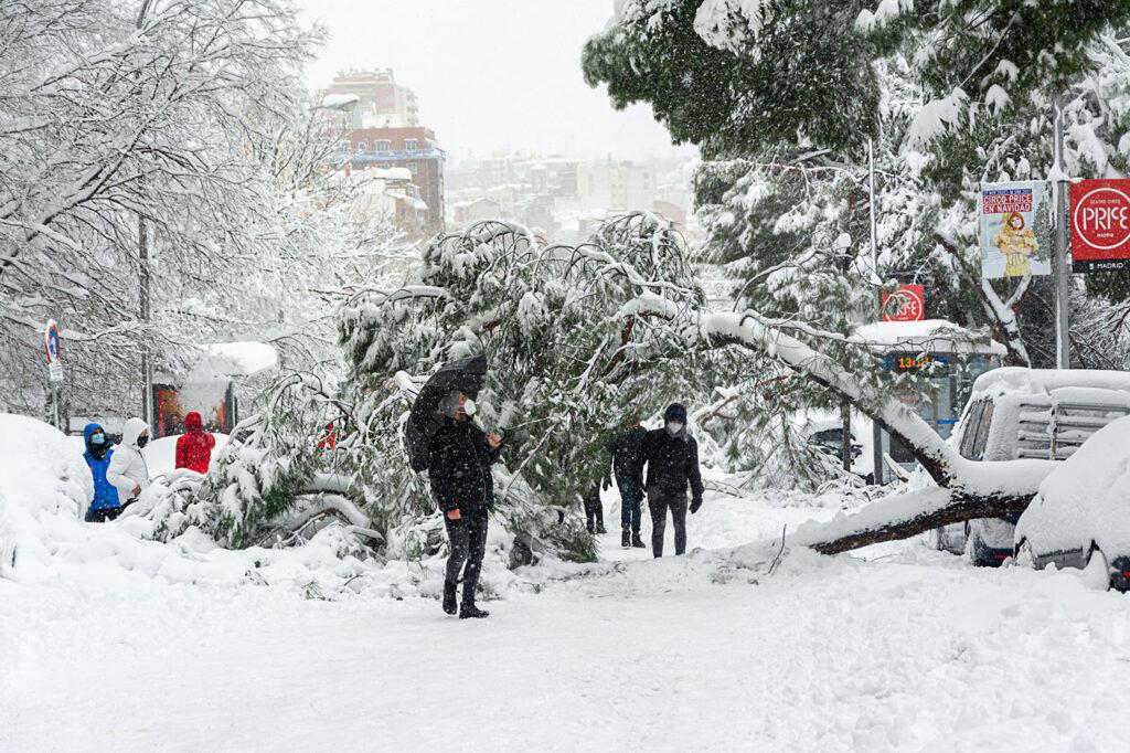 coberturas nevadas seguro riesgos atmosféricos