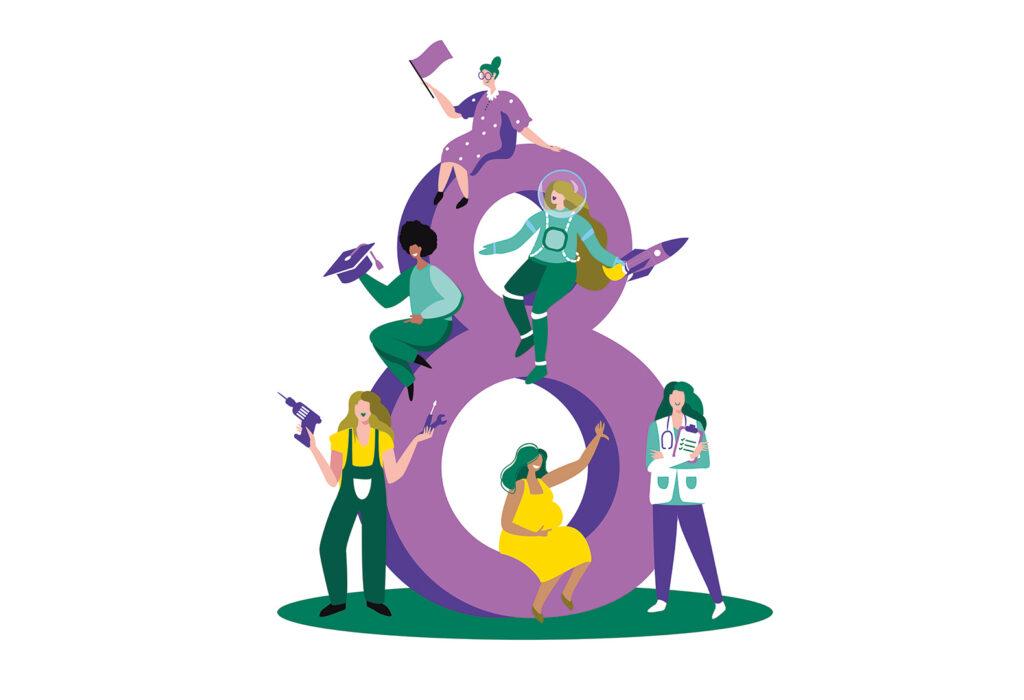 8m mujeres y seguros