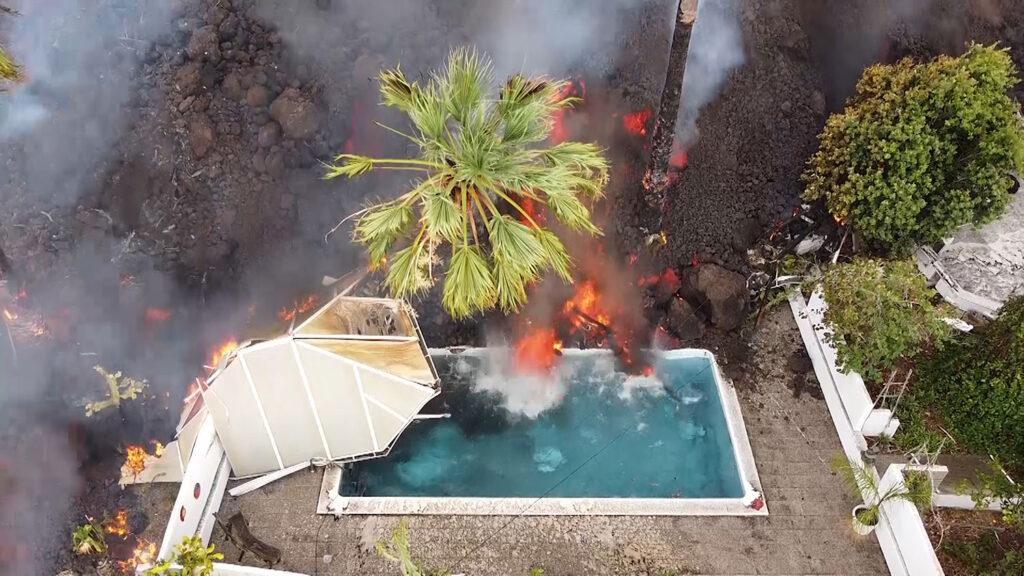 volcán cumbre vieja la palma seguros